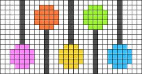 Alpha pattern #54684