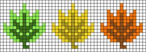 Alpha pattern #54685