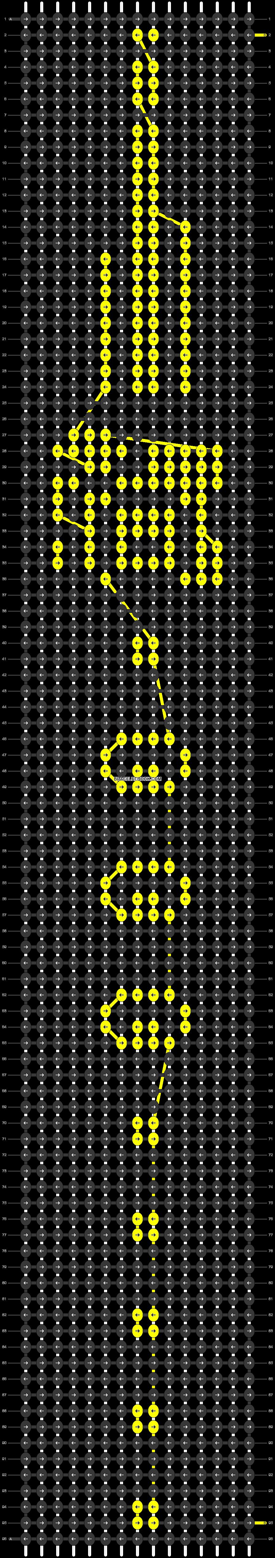 Alpha pattern #54690 pattern