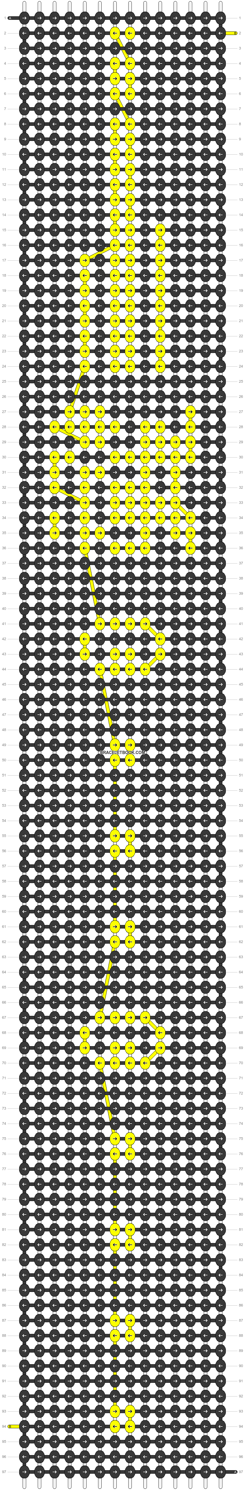 Alpha pattern #54694 pattern