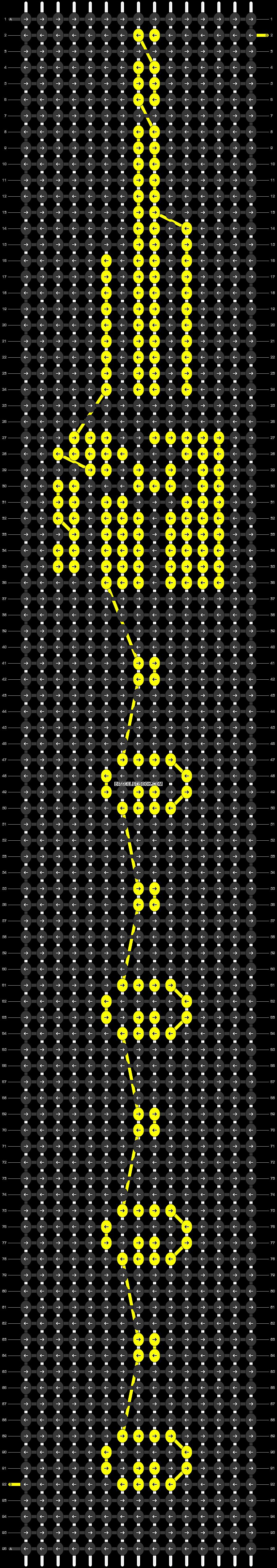Alpha pattern #54698 pattern