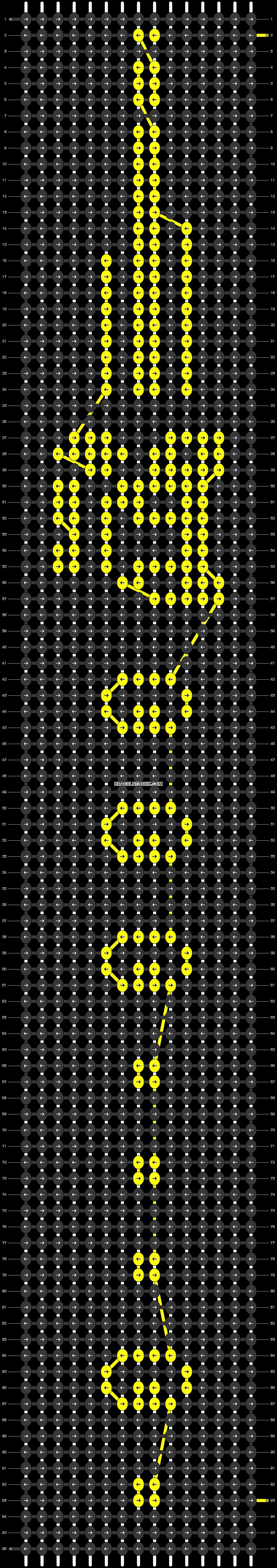 Alpha pattern #54701 pattern