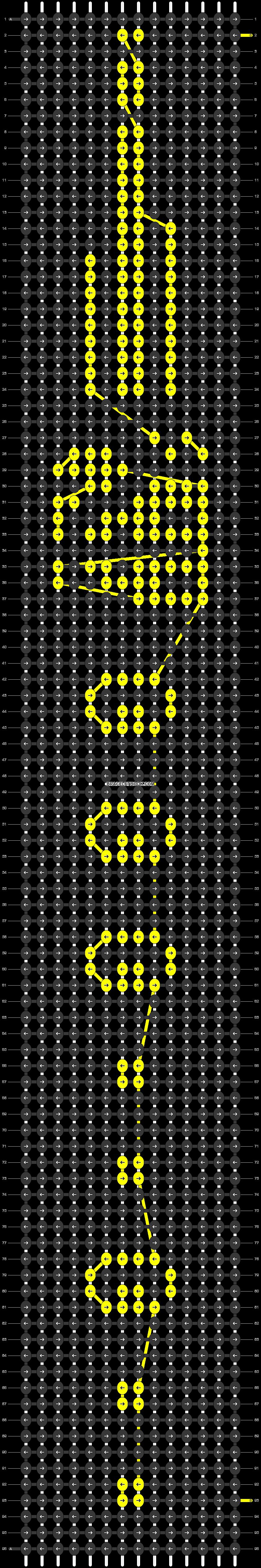 Alpha pattern #54703 pattern