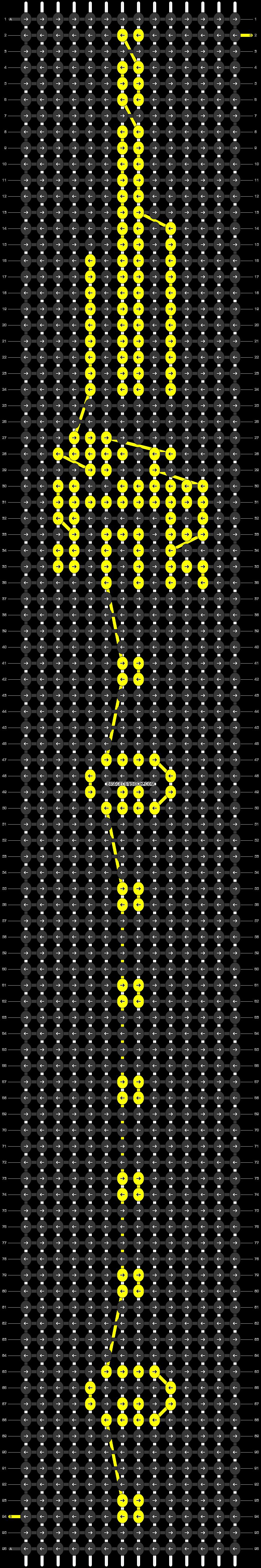 Alpha pattern #54704 pattern