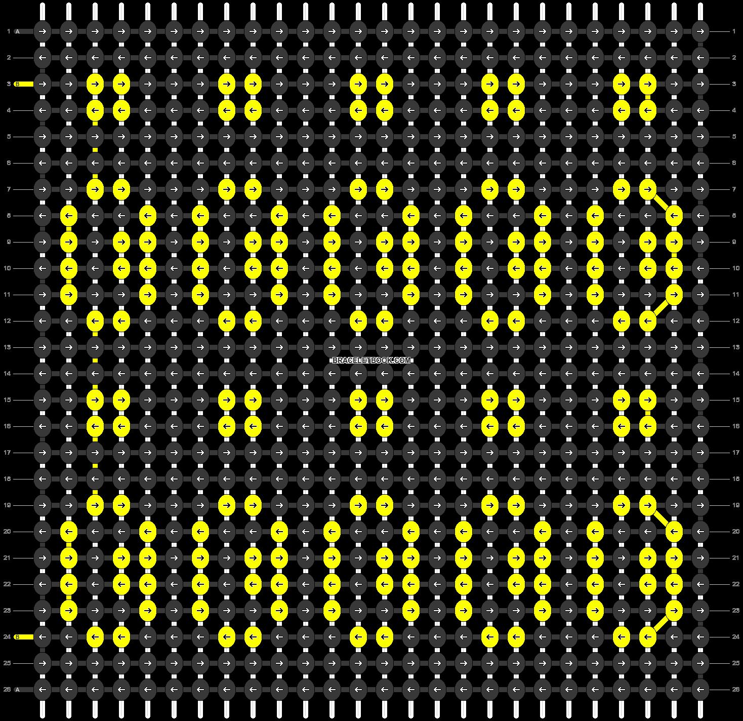 Alpha pattern #54706 pattern