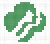 Alpha pattern #54715