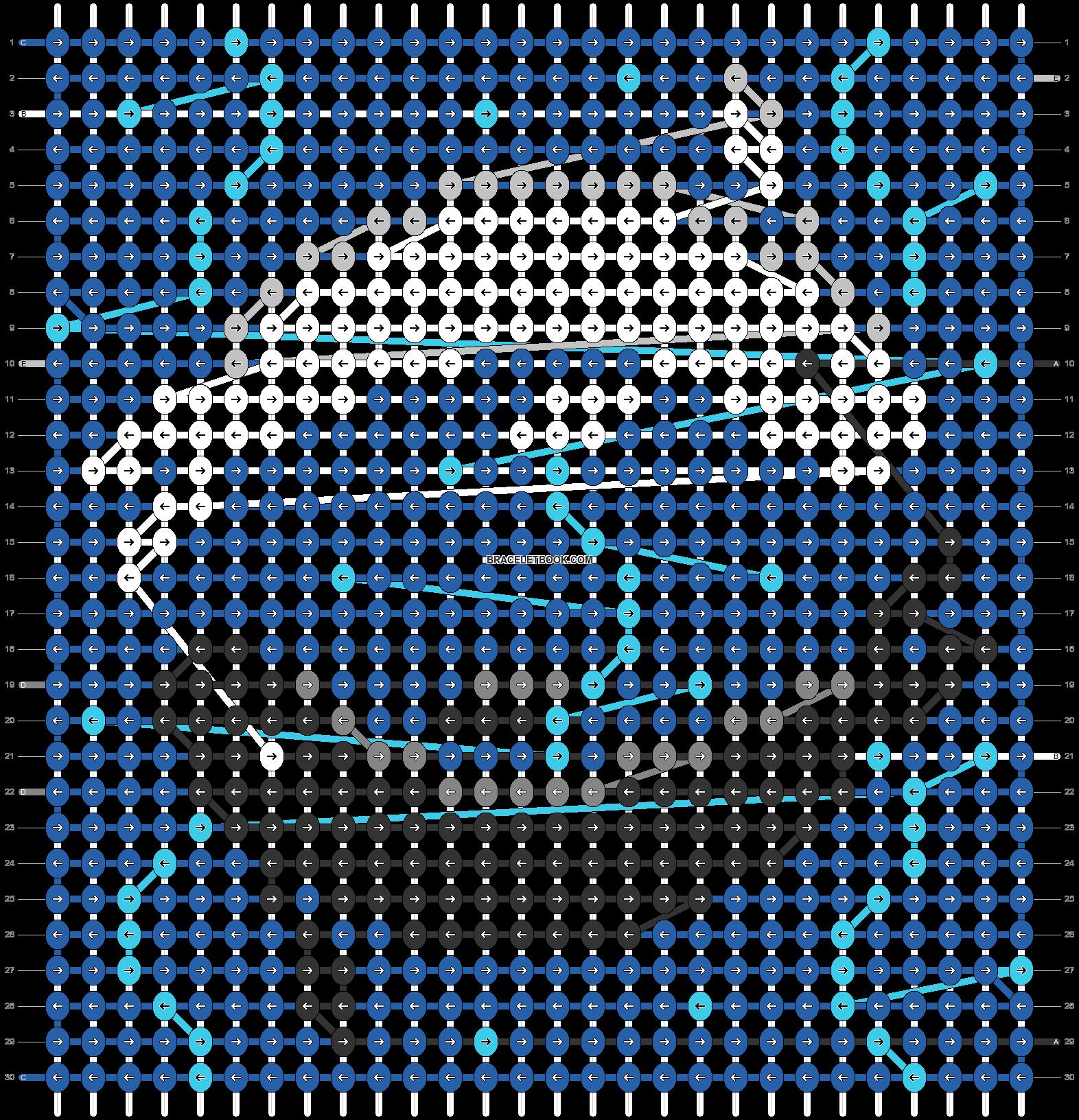 Alpha pattern #54731 pattern