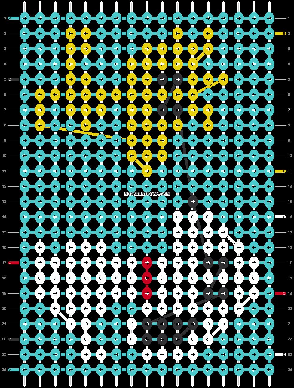 Alpha pattern #54735 pattern