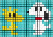 Alpha pattern #54735