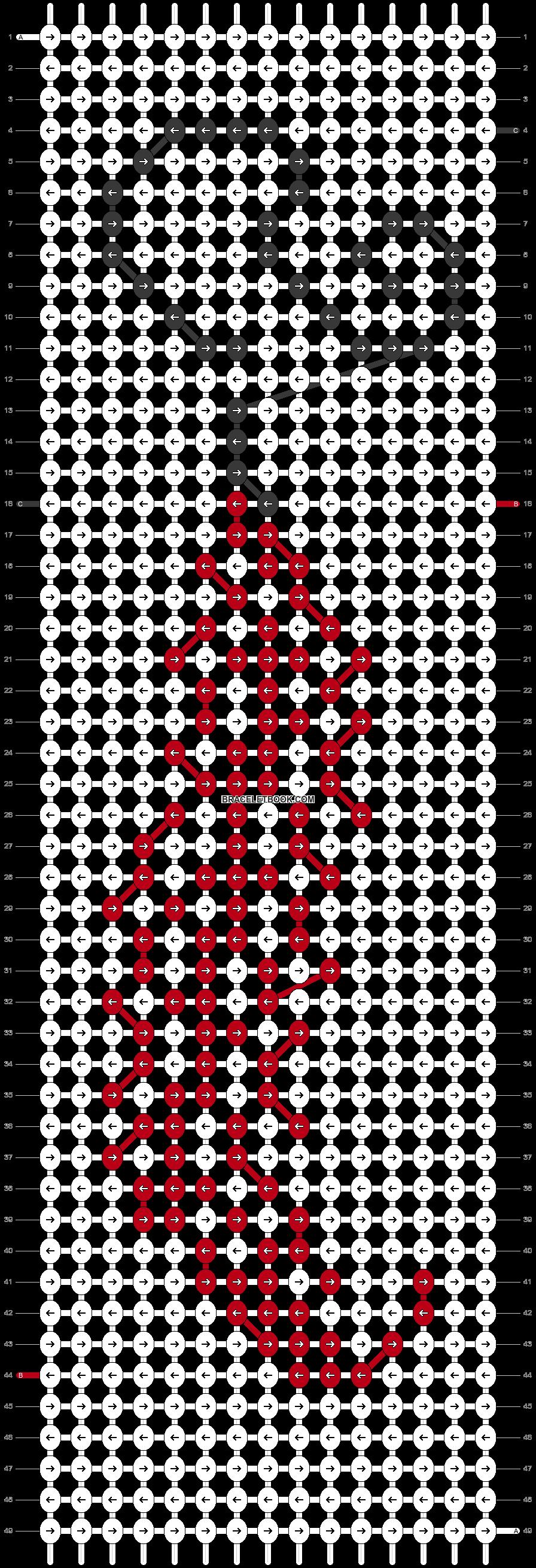 Alpha pattern #54737 pattern