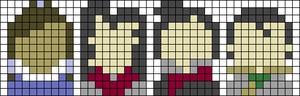 Alpha pattern #54742