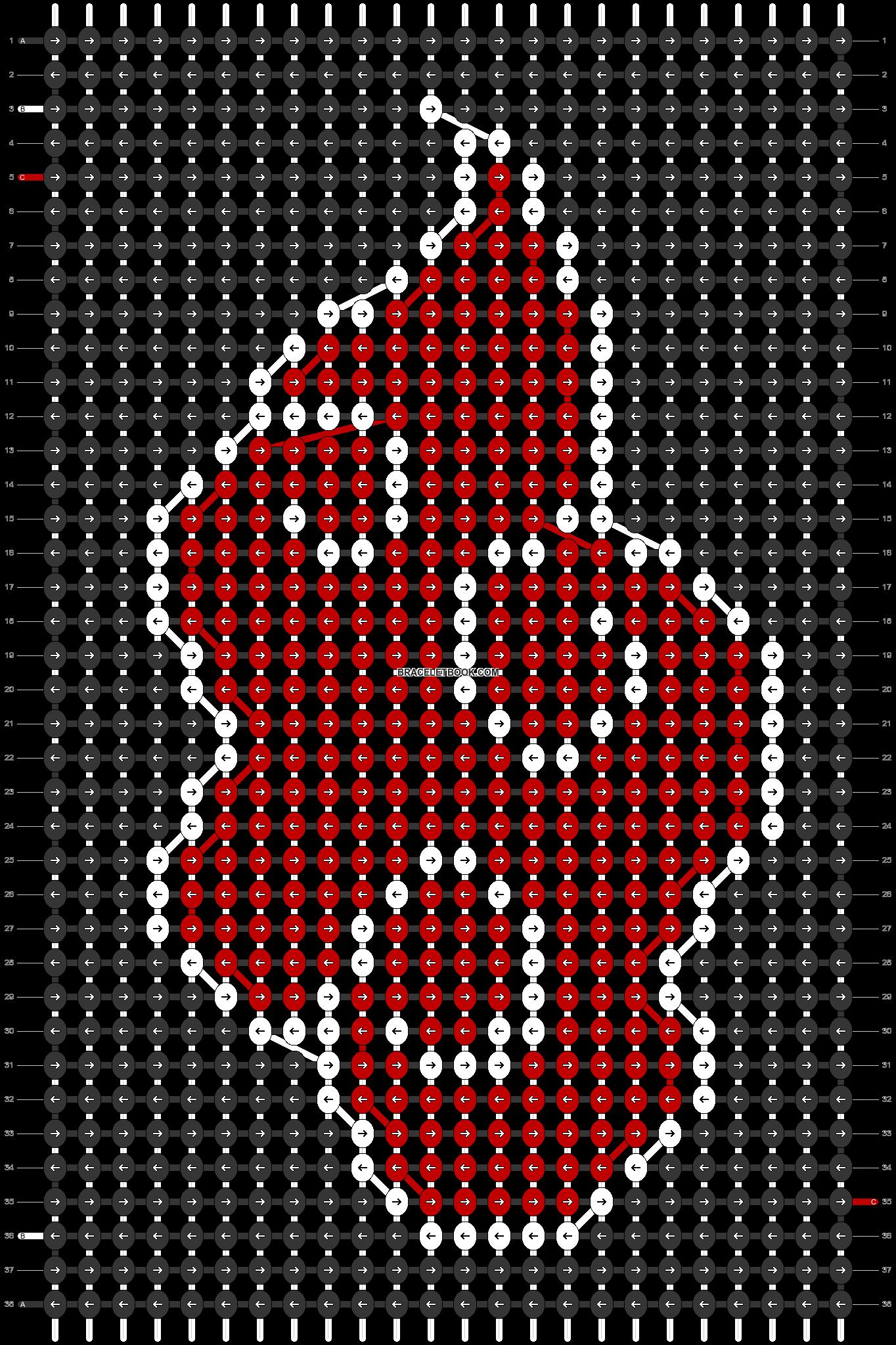 Alpha pattern #54755 pattern