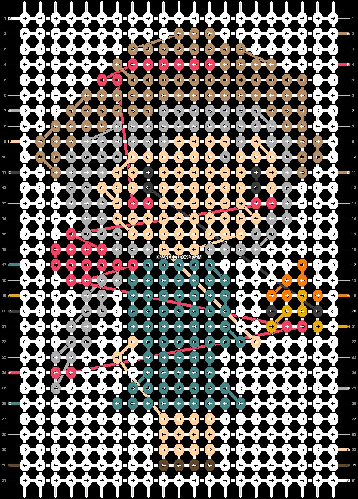 Alpha pattern #54762 pattern