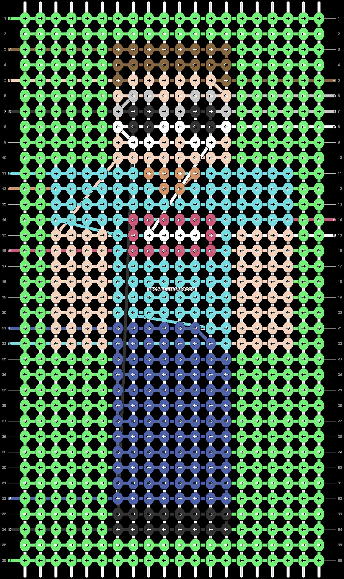 Alpha pattern #54763 pattern
