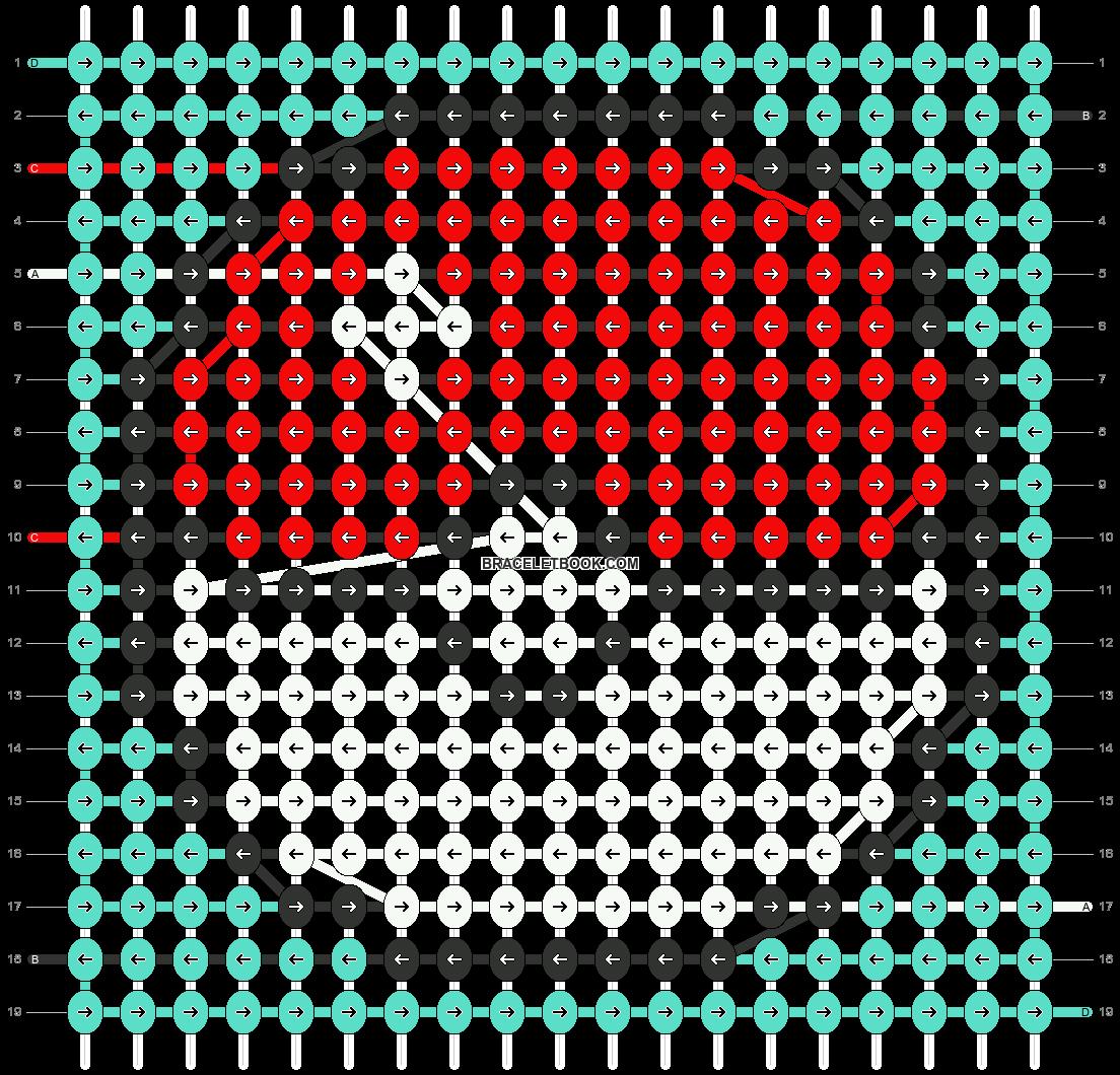 Alpha pattern #54768 pattern