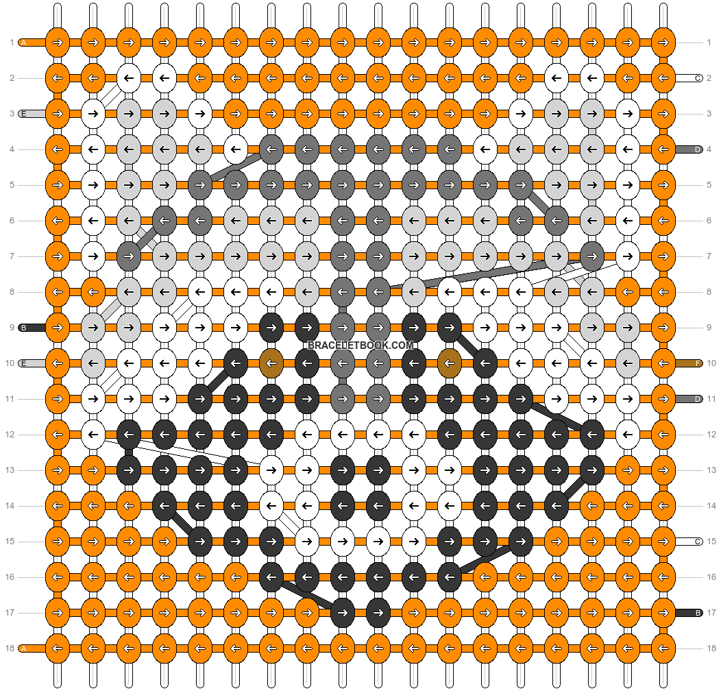 Alpha pattern #54774 pattern
