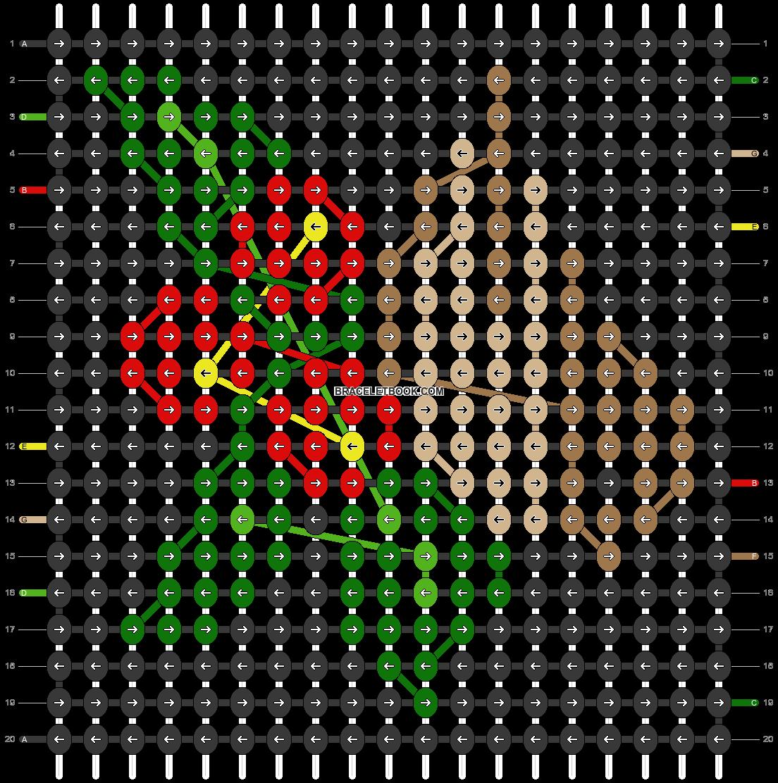 Alpha pattern #54776 pattern