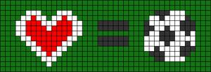 Alpha pattern #54799