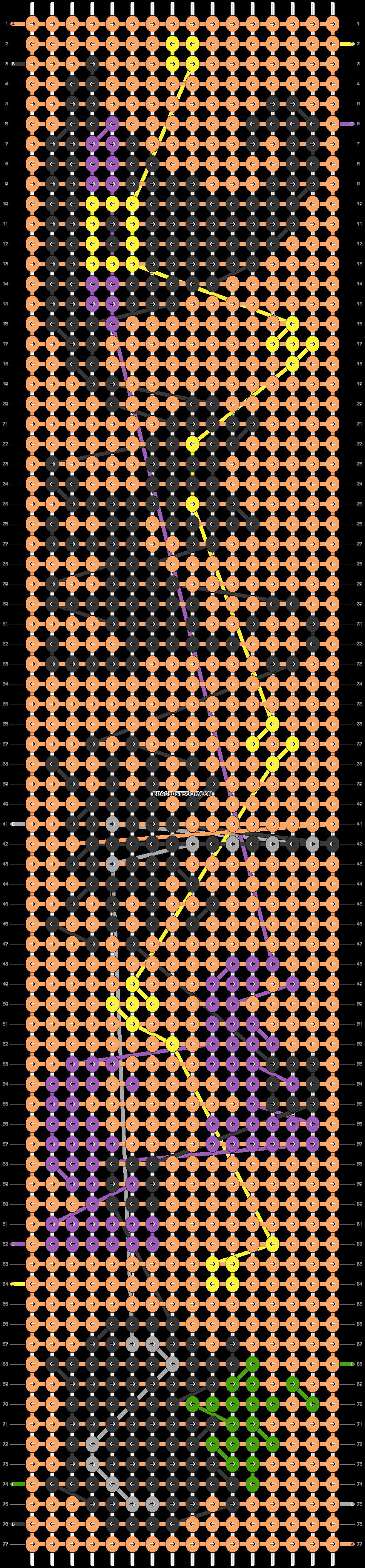 Alpha pattern #54804 pattern