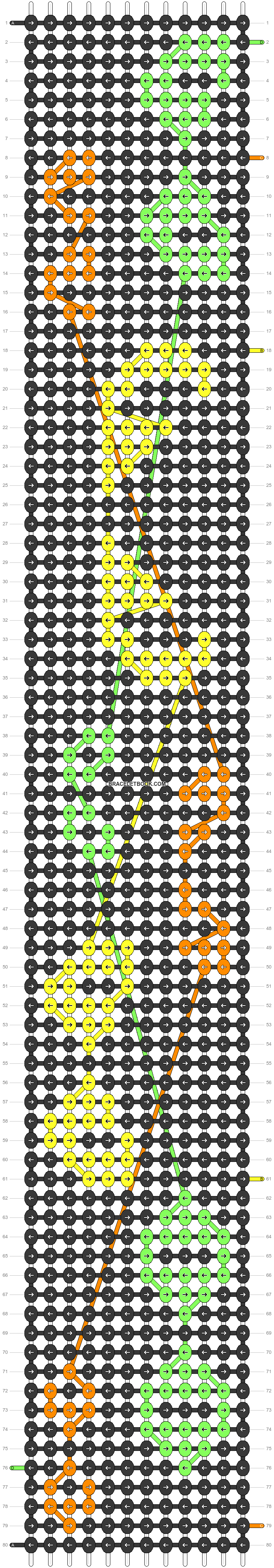 Alpha pattern #54805 pattern