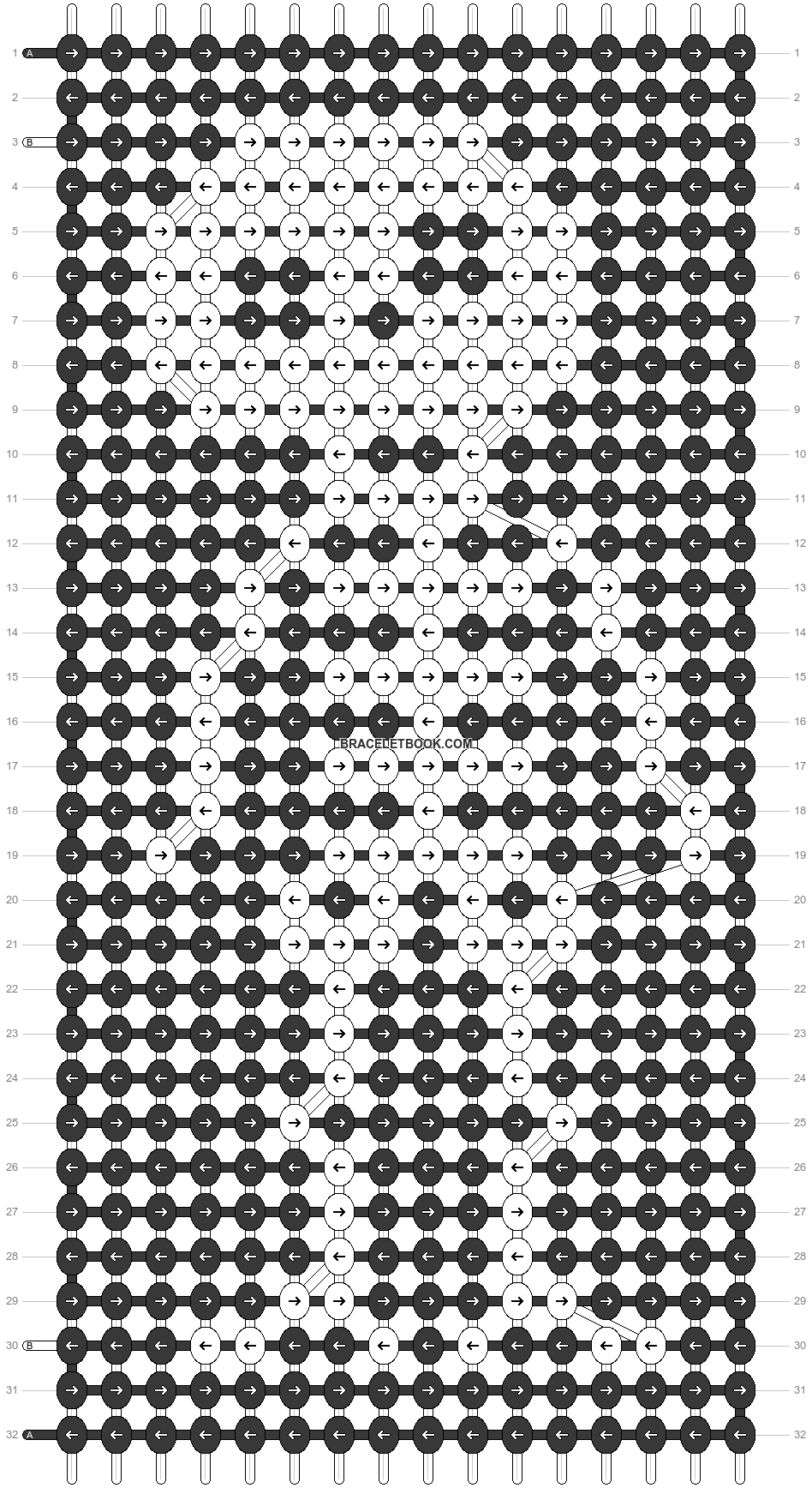 Alpha pattern #54807 pattern