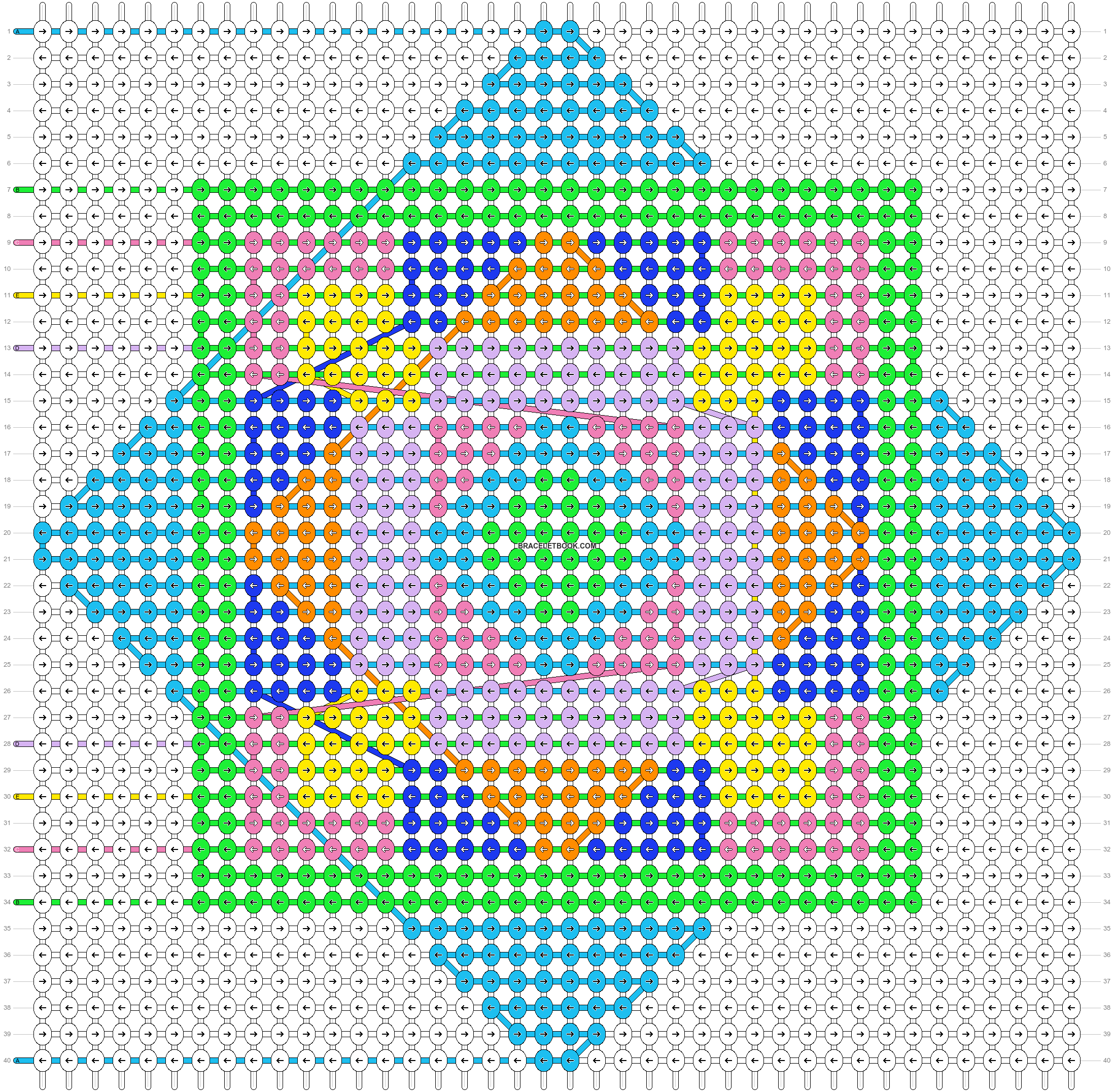 Alpha pattern #54814 pattern