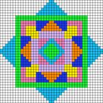 Alpha pattern #54814