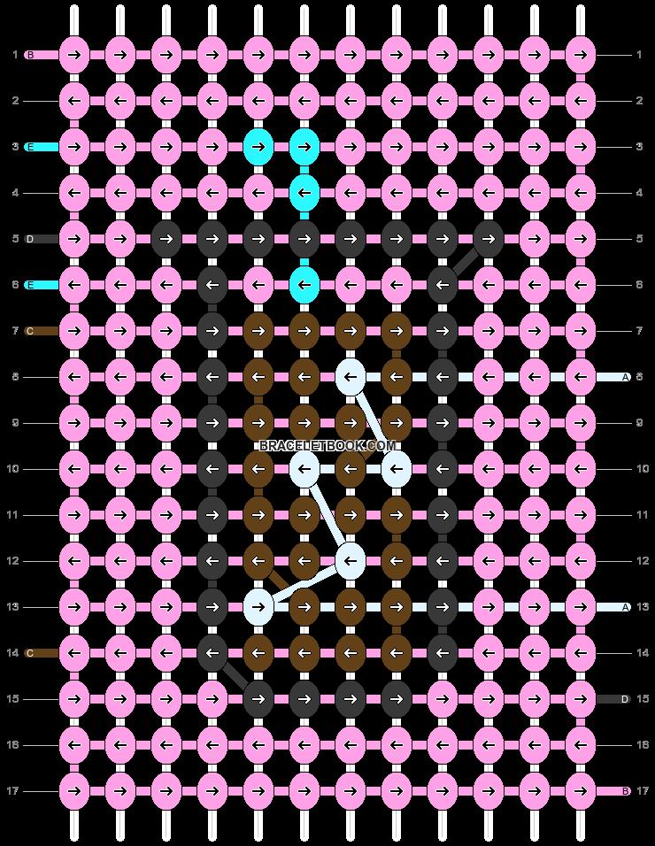 Alpha pattern #54834 pattern