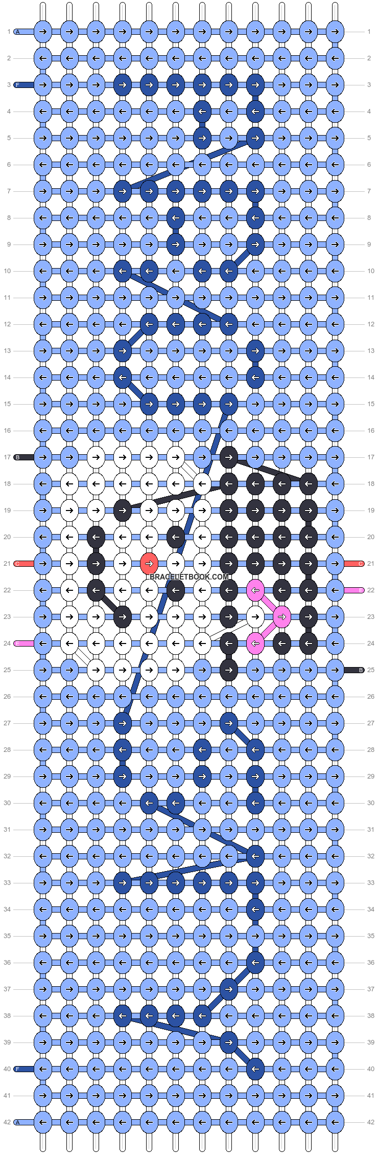 Alpha pattern #54835 pattern