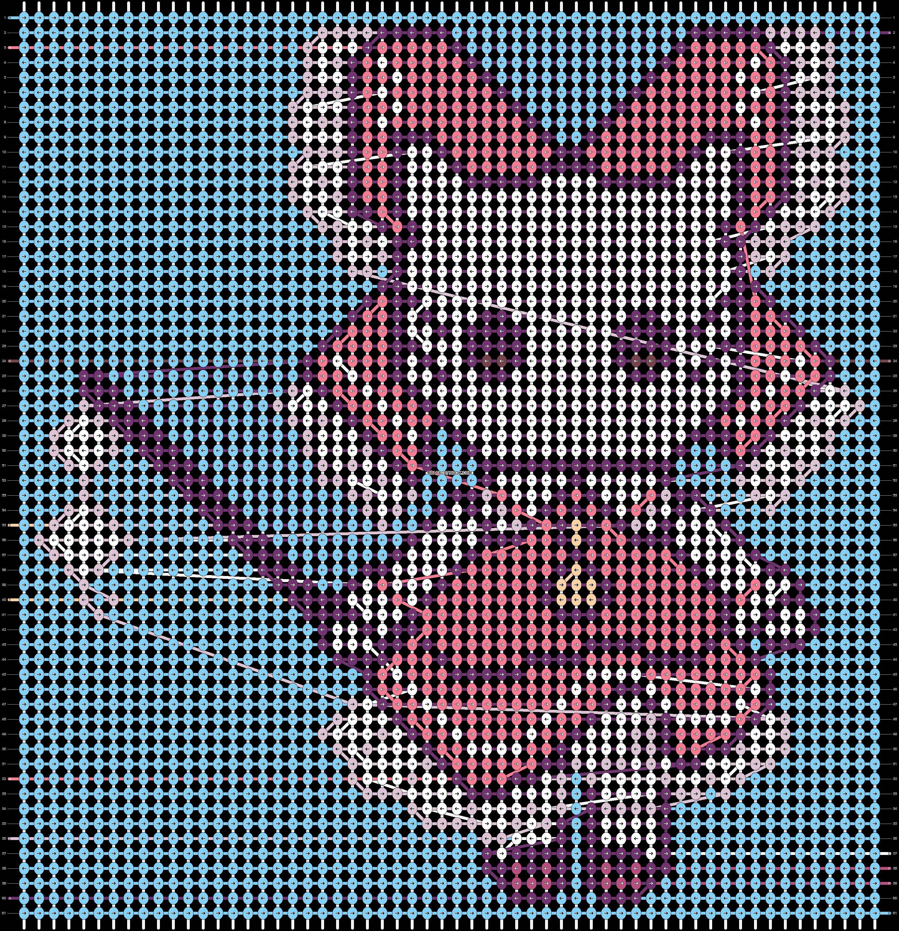 Alpha pattern #54844 pattern