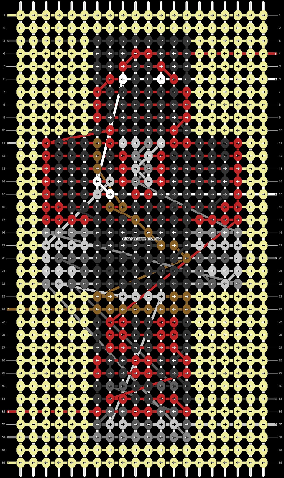 Alpha pattern #54849 pattern