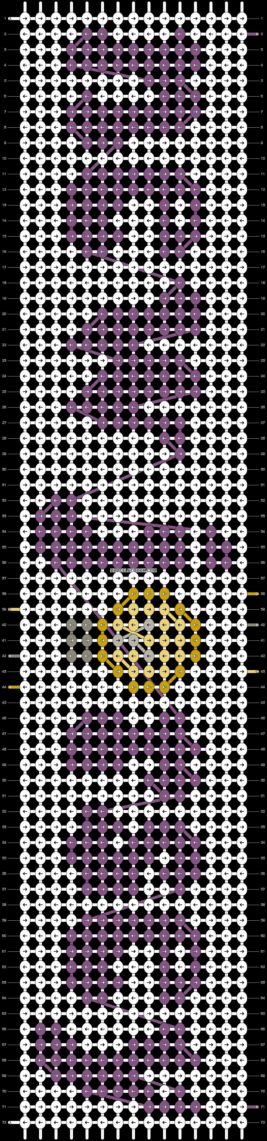 Alpha pattern #54851 pattern