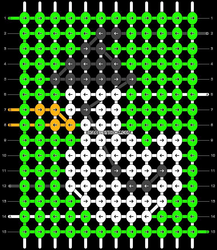 Alpha pattern #54859 pattern