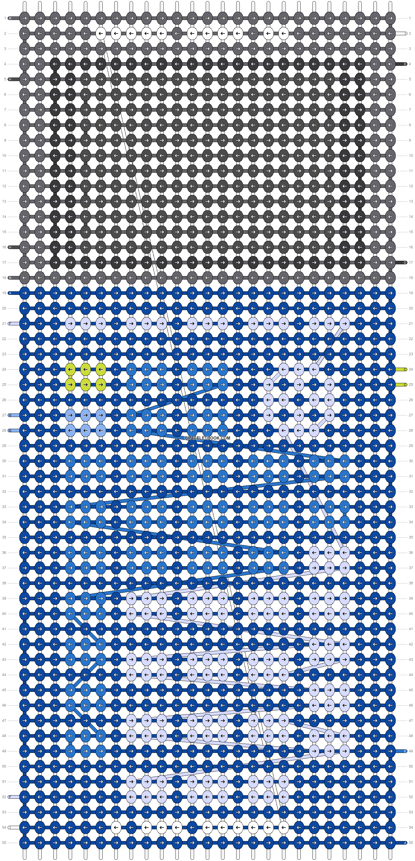 Alpha pattern #54861 pattern