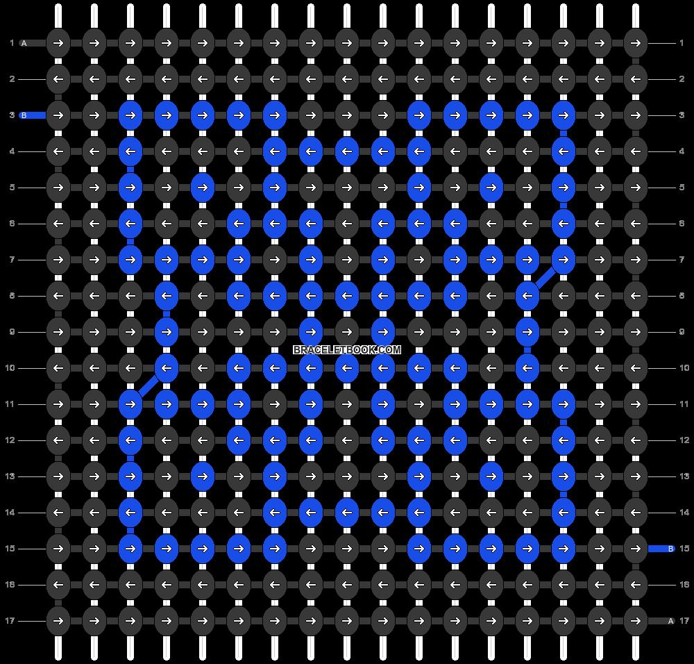 Alpha pattern #54862 pattern