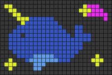 Alpha pattern #54863