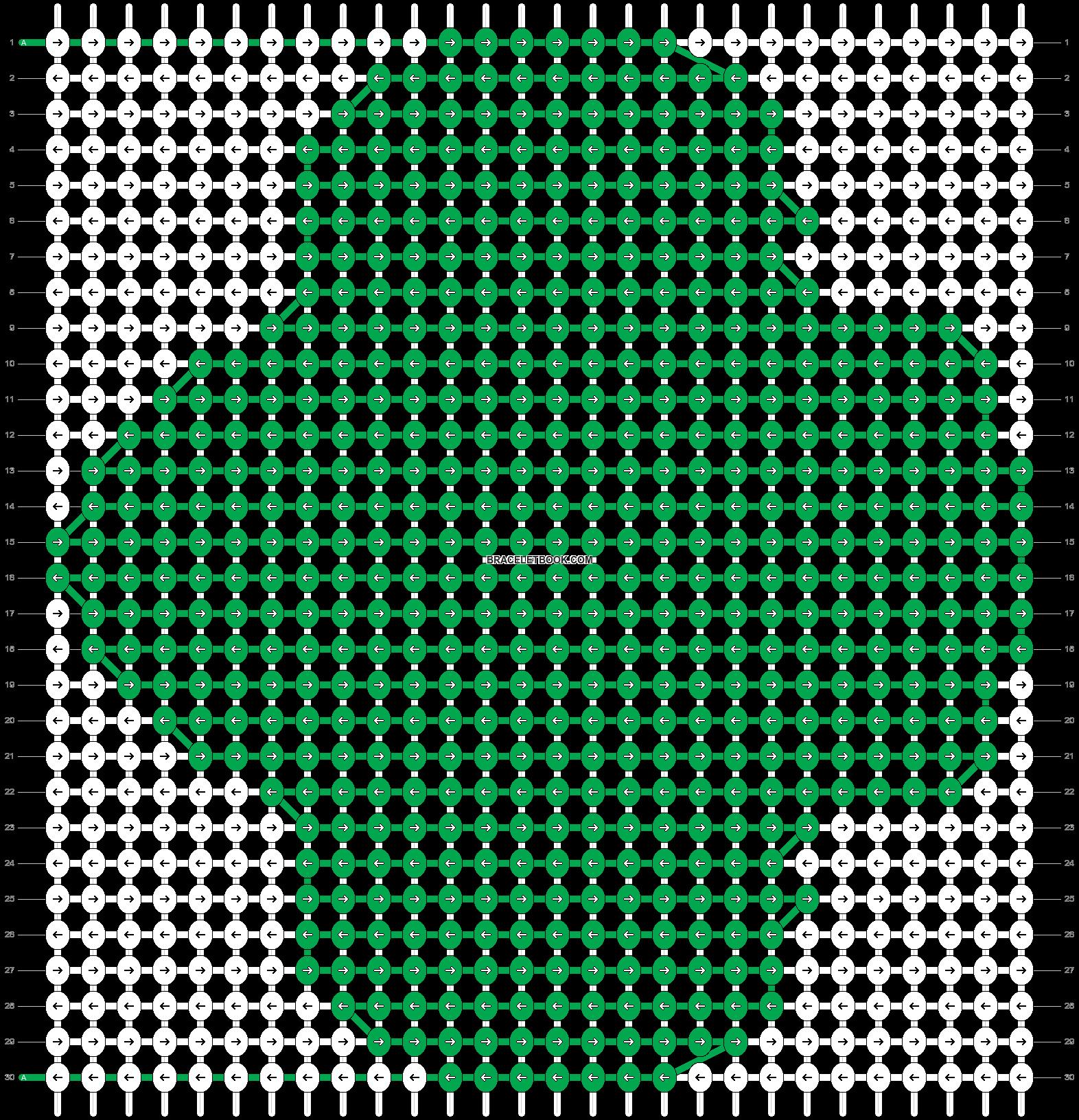 Alpha pattern #54866 pattern