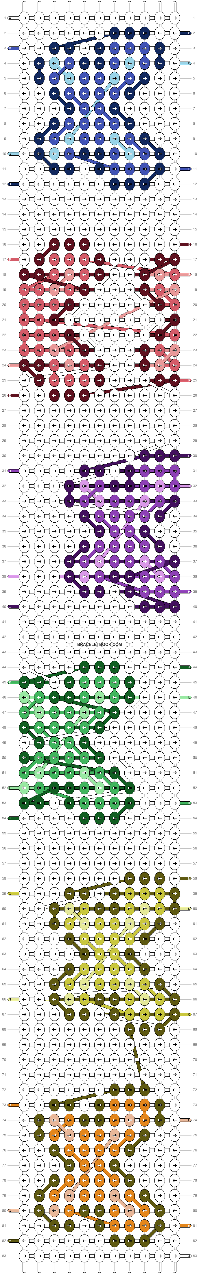Alpha pattern #54878 pattern