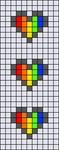 Alpha pattern #54885