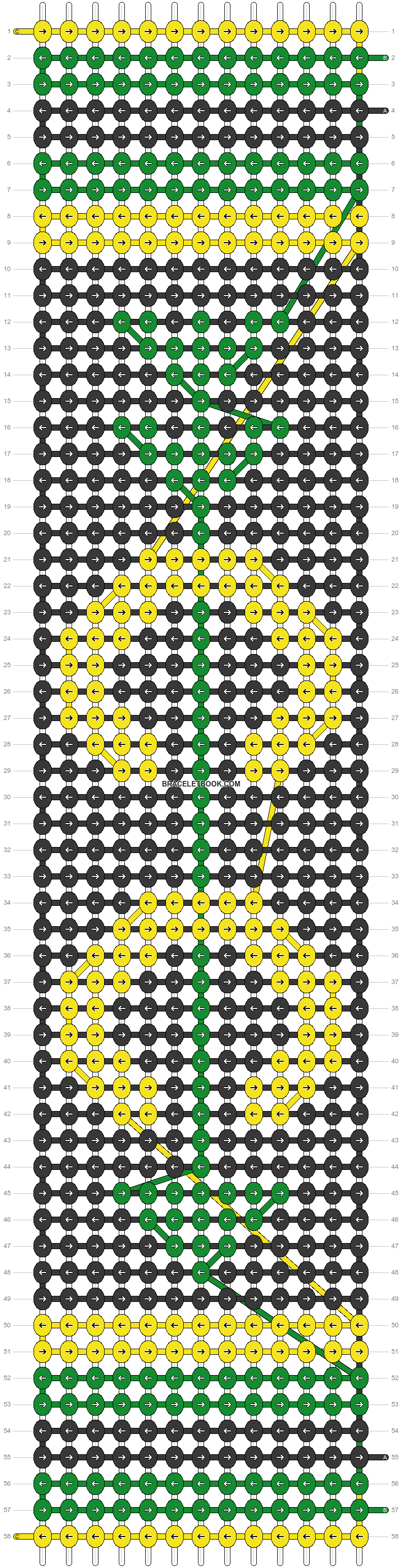 Alpha pattern #54898 pattern