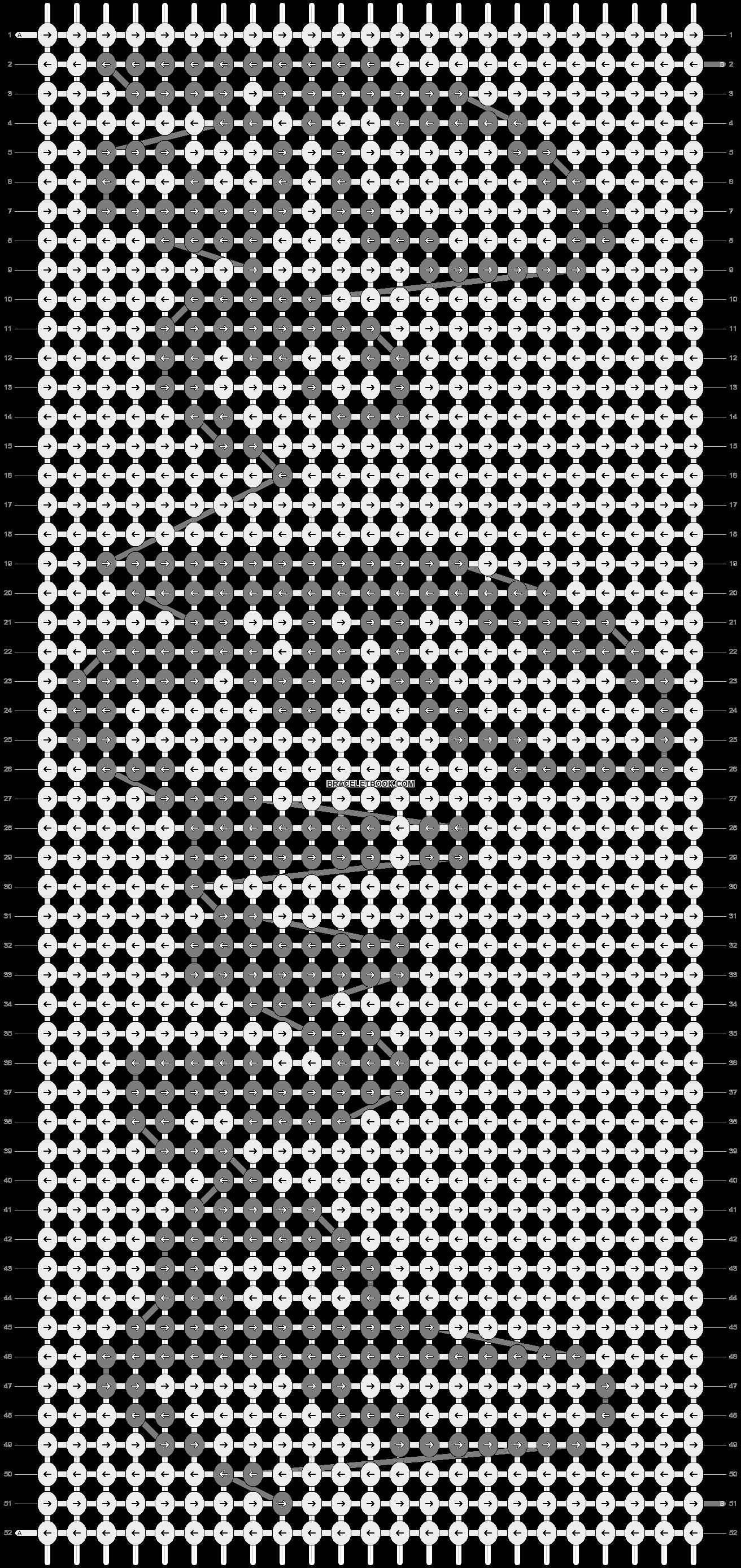 Alpha pattern #54901 pattern