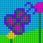 Alpha pattern #54904
