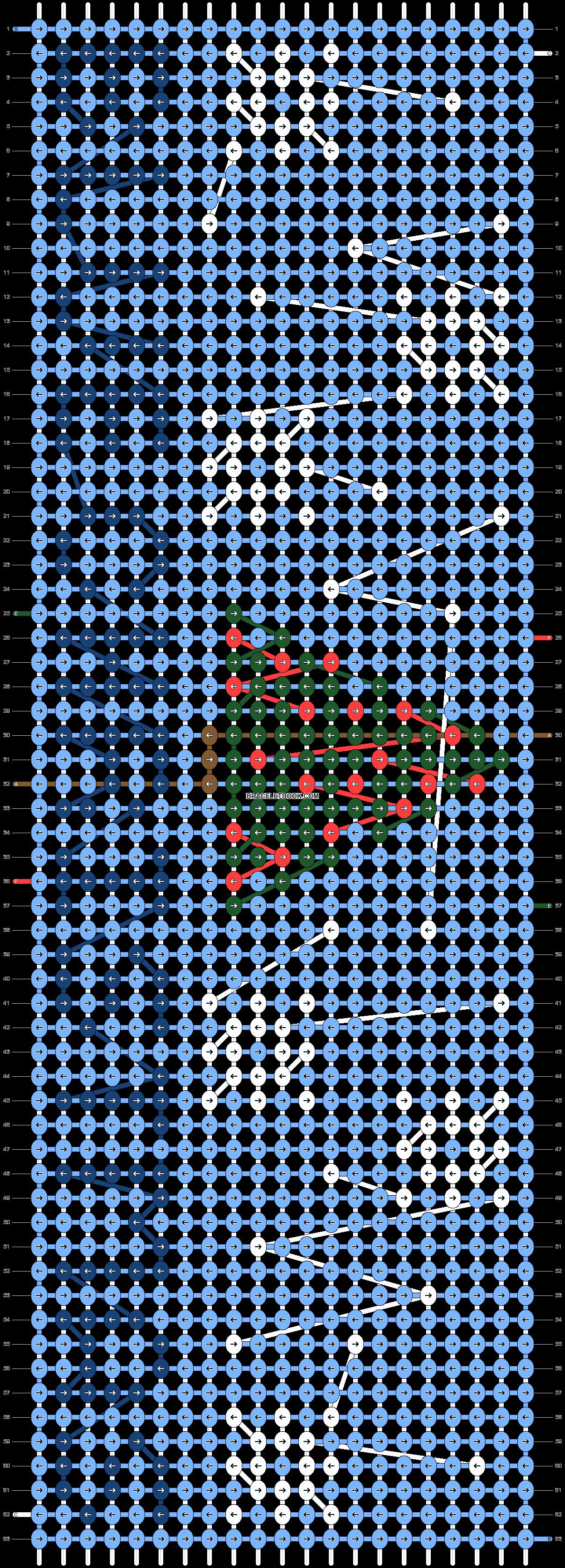 Alpha pattern #54908 pattern