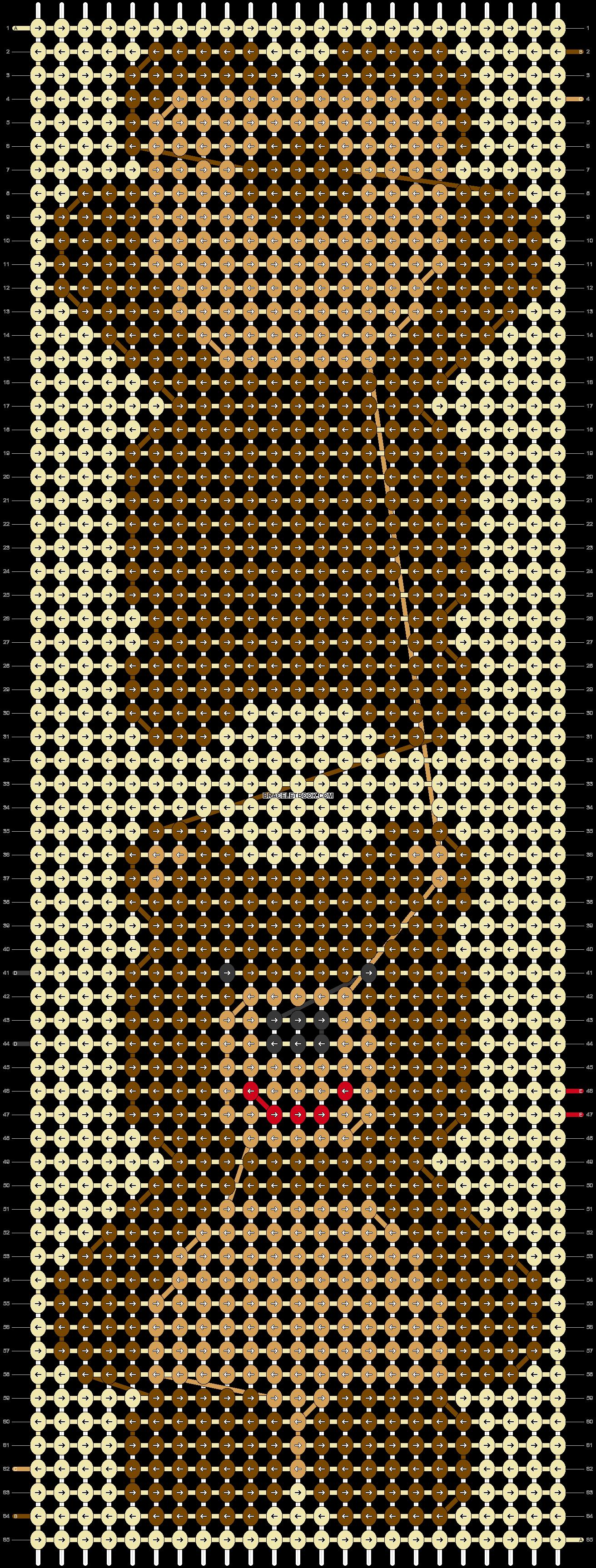Alpha pattern #54911 pattern