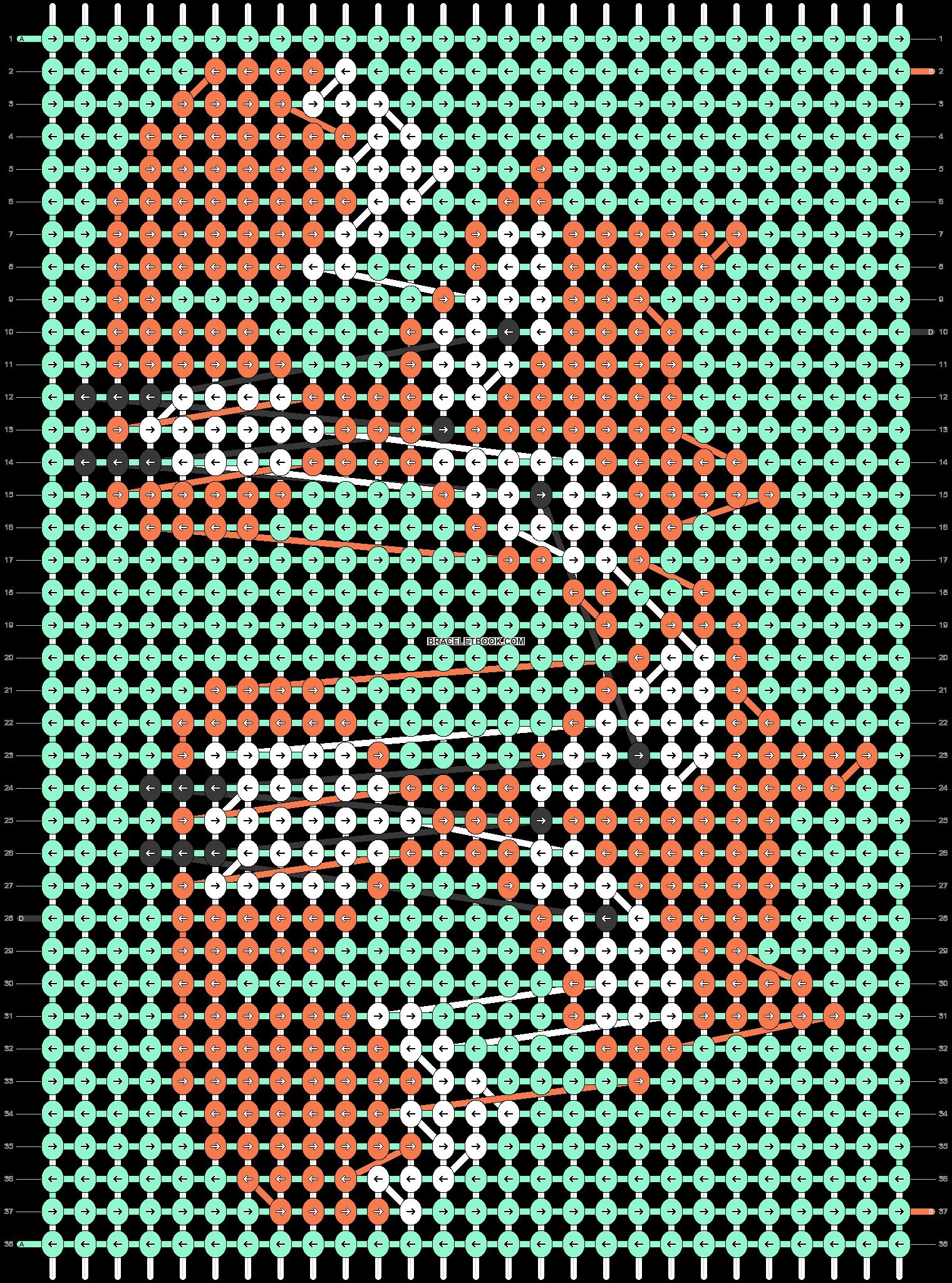 Alpha pattern #54916 pattern