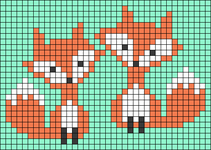 Alpha pattern #54916