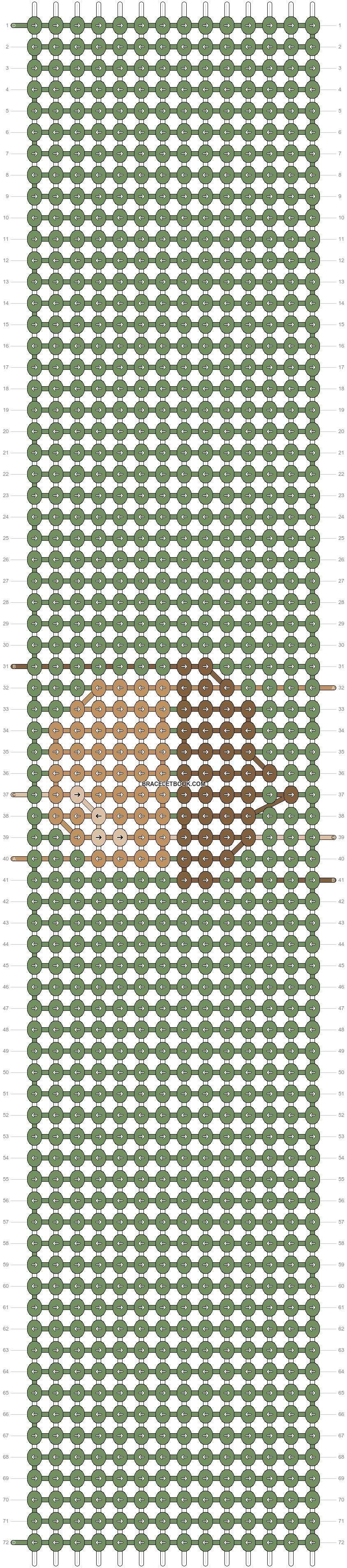 Alpha pattern #54958 pattern
