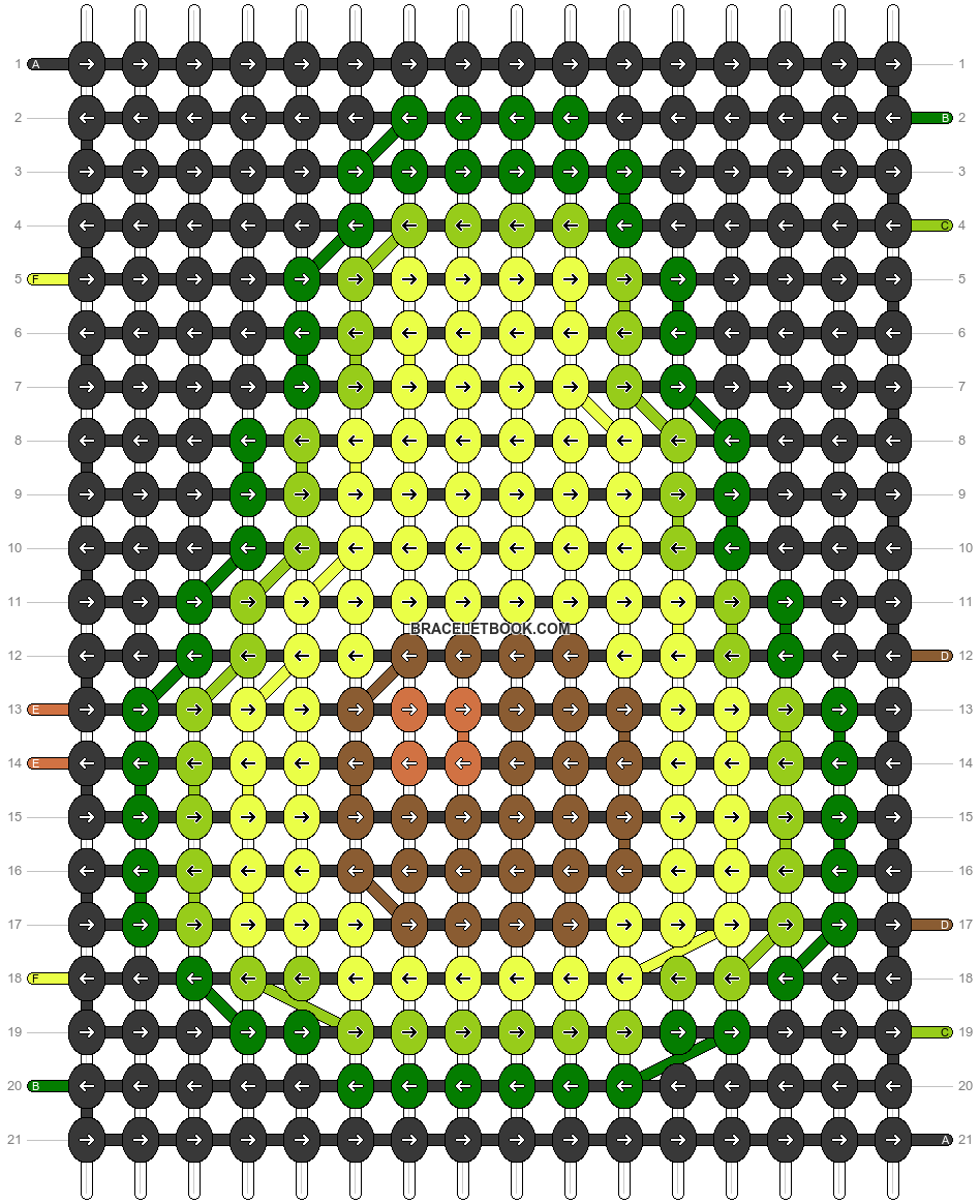 Alpha pattern #54965 pattern