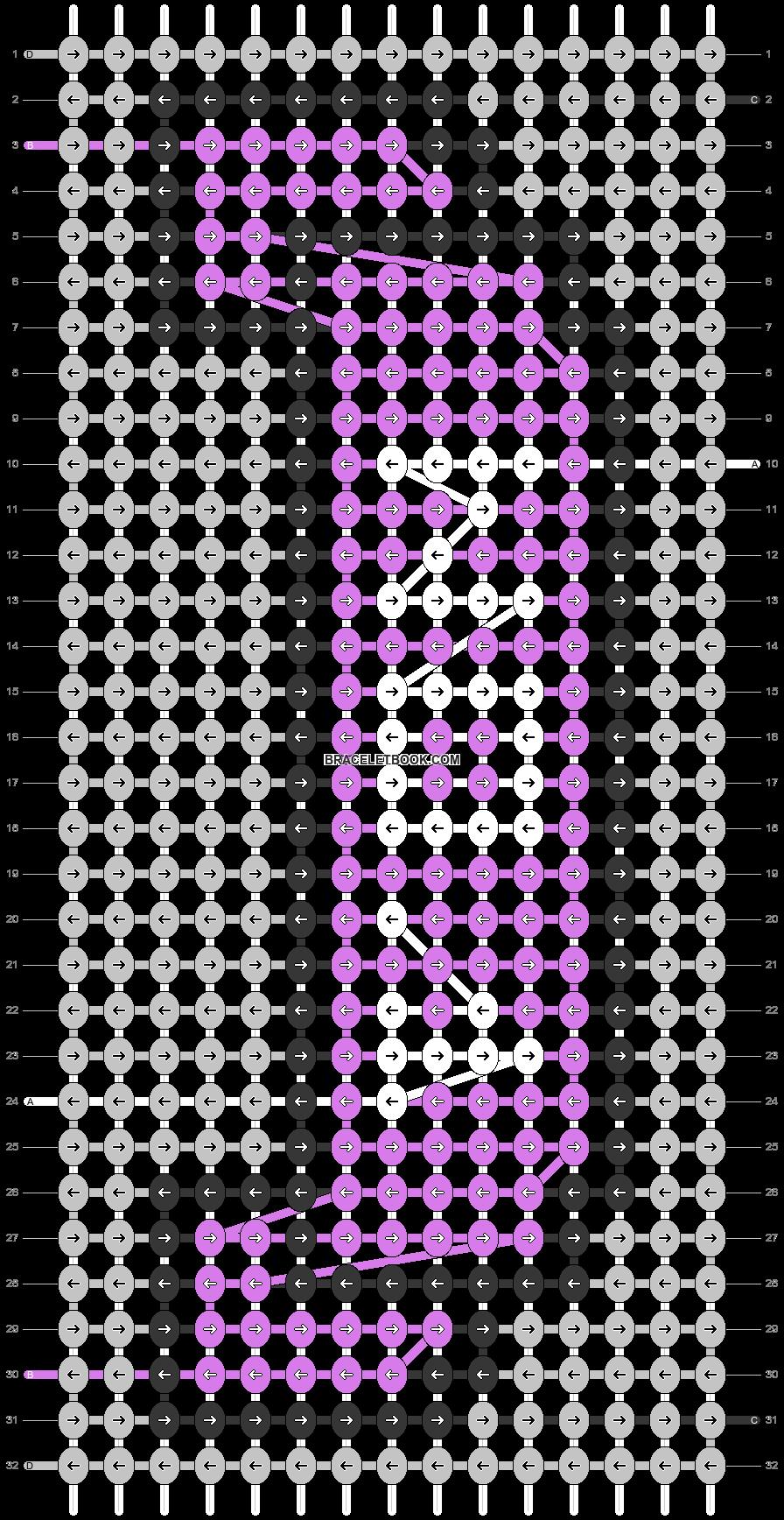 Alpha pattern #54967 pattern