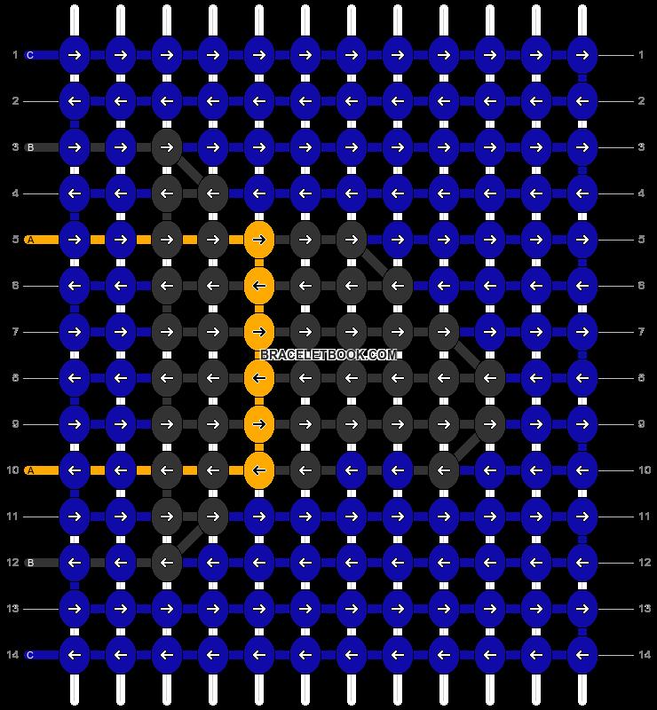 Alpha pattern #54975 pattern